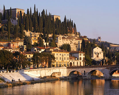 Verona, Italy, home of Romeo and Juliet